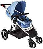 phil&teds フィルアンドテッズ voyager buggy ボイジャー ※ダブルキット付 (Blue Marl)