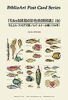 BiblioArt Post Card Series 『モルッカ諸島の彩色魚類図譜』(5) 6枚セット(解説付き)