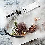 BKLN DINER 燻製器 スモーキングガン キッチンでも 本格 スモーク 簡単 冷燻 薫製 コンパクト スモーカー 燻製機 〈日本正規保証〉 (シルバー)