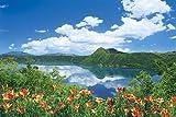 1000ピース めざせ!パズルの達人 蒼の摩周湖-北海道 (50x75cm)