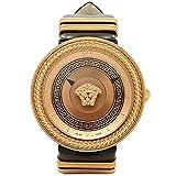 (ヴェルサーチ) VERSACE ヴェルサーチ 時計 VERSACE VLC030014 V-METAL ICON 腕時計 ウォッチ ブラック/ローズゴールド [並行輸入品]