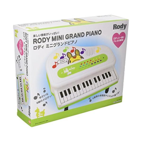 ロディ ミニグランドピアノ No.3589の紹介画像2