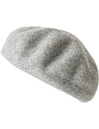 (カジュアルボックス) ベレー帽 秋冬用 フェルト リブ ベレー メンズ レディース