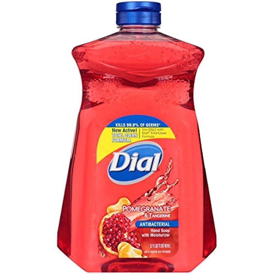 月面腐敗した可能にするDial Pomegranate & Tangerine Refill Antibacterial Hand Soap, 52 FL OZ by Dial