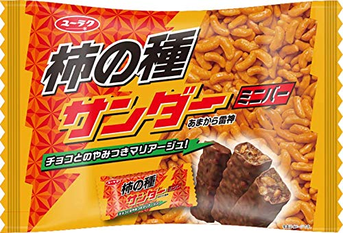 有楽製菓 柿の種サンダー ミニバー 155g×12袋