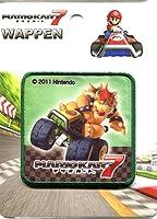 SUPER MARIO スーパーマリオ クッパ ワッペン MRW016 マリオ クッパ マリオカート7