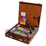 ターレンス 油絵具 ヴァンゴッホ 26色木箱セット エキスパートBOX T0284-3426 20ml(6号)
