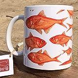 cicada お魚マグカップ(大)/ラッセル・ウィルス 金目鯛 タツノオトシゴ 熱帯魚 伊豆 kinme