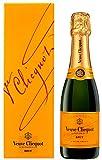 ヴーヴ・クリコ イエローラベル ブリュット デザインボックス入り 375ml [フランス/スパークリングワイン/辛口/ミディアムボディ/1本]