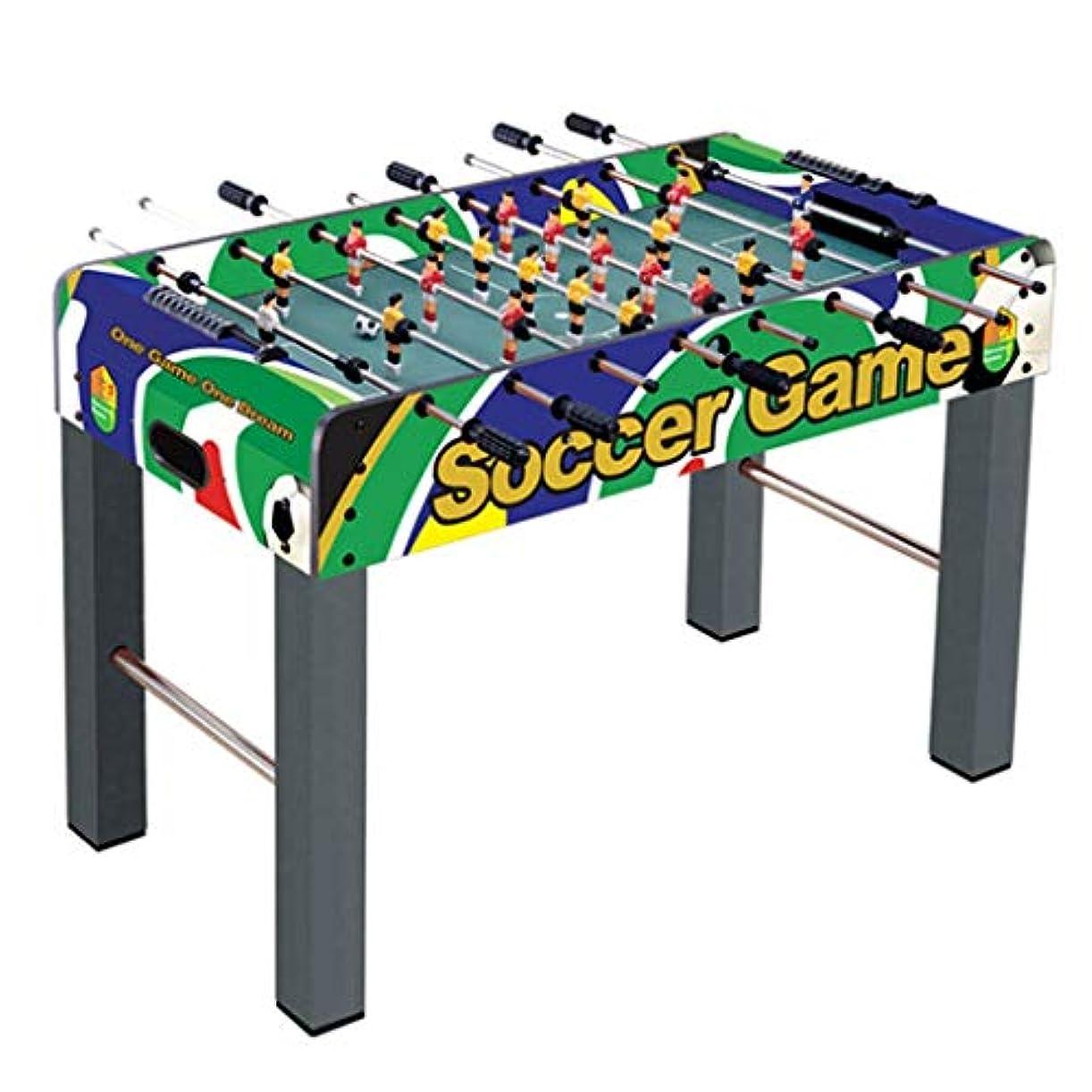 克服する発揮するそよ風テーブルサッカー機6大人ビリヤード機ダブルテーブルサッカー子供のゲームのおもちゃ6-14歳古い教育玩具マルチプレイヤーインタラクティブサッカー機 (Color : GREEN, Size : 121*61*79CM)
