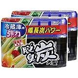 【まとめ買い】 脱臭炭 冷蔵庫用大型 脱臭剤 240g×2個