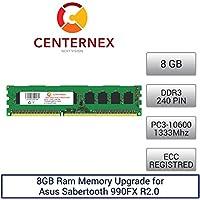 8GB RAM メモリ Asus Sabertooth 990FX R2.0 (DDR310600 ECC) マザーボード用メモリー