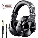OneAudio DJヘッドホン モニターヘッドホン Bluetooth オーバーイヤー ヘッドホン 有線-無線 ヘッドフォン 密閉型 FuSion A7