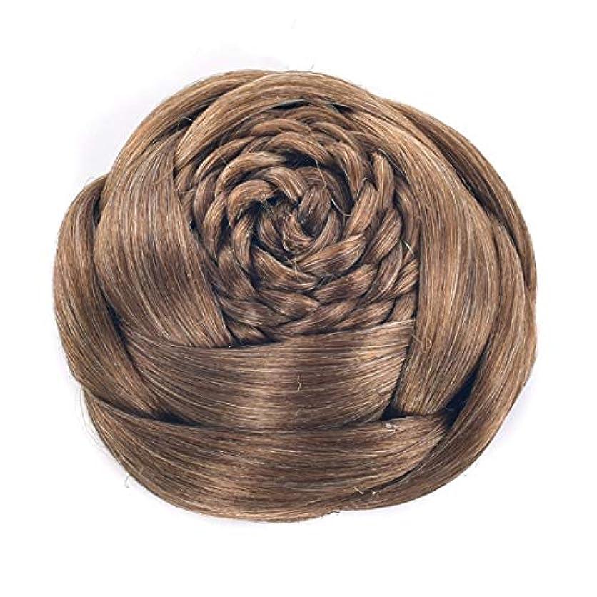 悪性トークシェルJIANFU レディースヘアデバイスフラワーシェイプヘアピン高温シルクヘアブーン (Color : Color 1011)