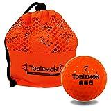 TOBIEMON(トビエモン) ゴルフボール 2ピース 12球(1ダース) 公認球 メッシュバック入り