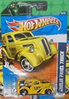 2011 Hot Wheels 138/244 - HW Performance '11 8/10 - Anglia Panel Truck (Yellow) by Hot Wheels