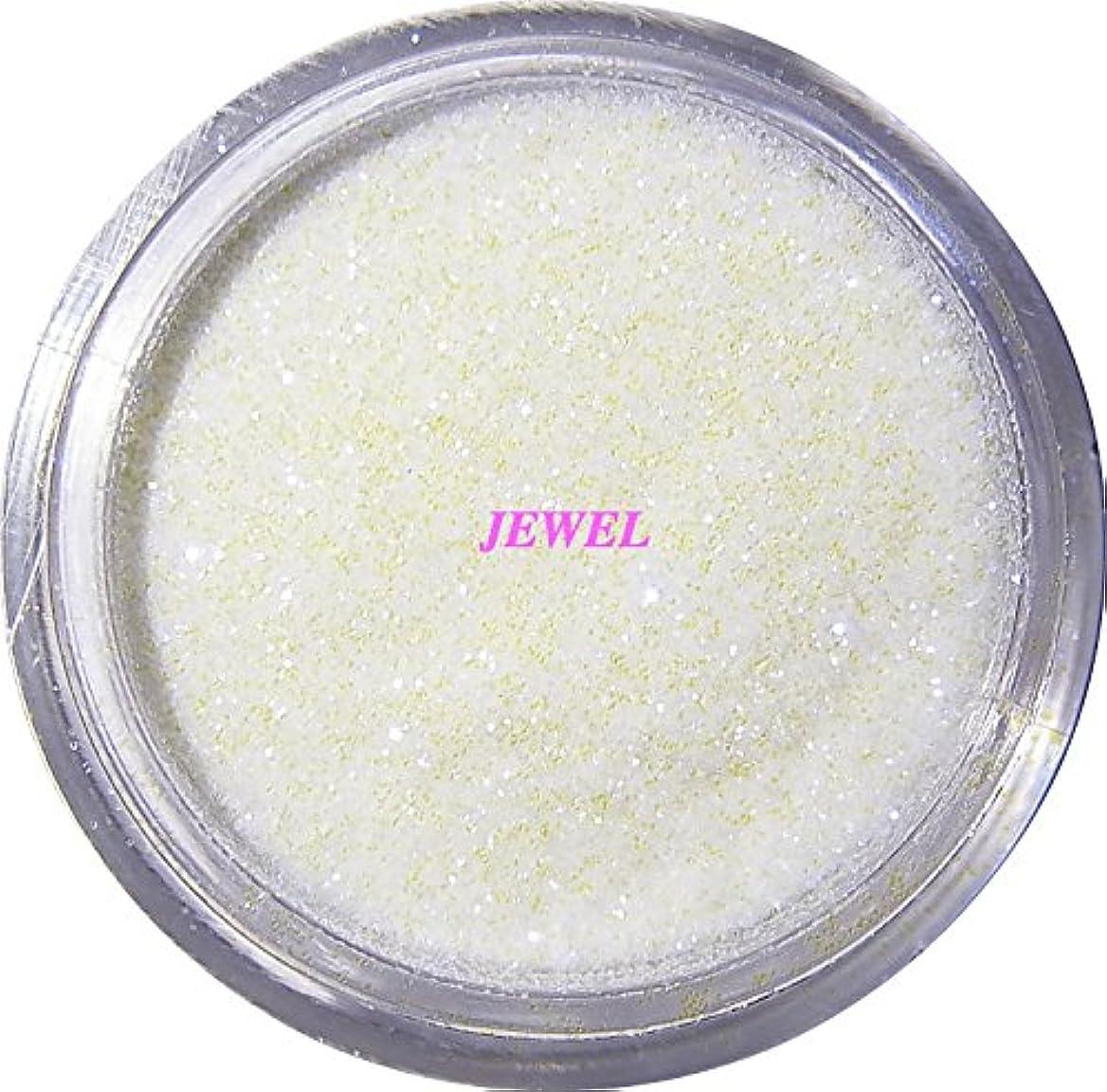 無知仲良しルーキー【jewel】 超微粒子ラメパウダー(白/パールホワイト) 256/1サイズ 2g入り グリッター レジン&ネイル用