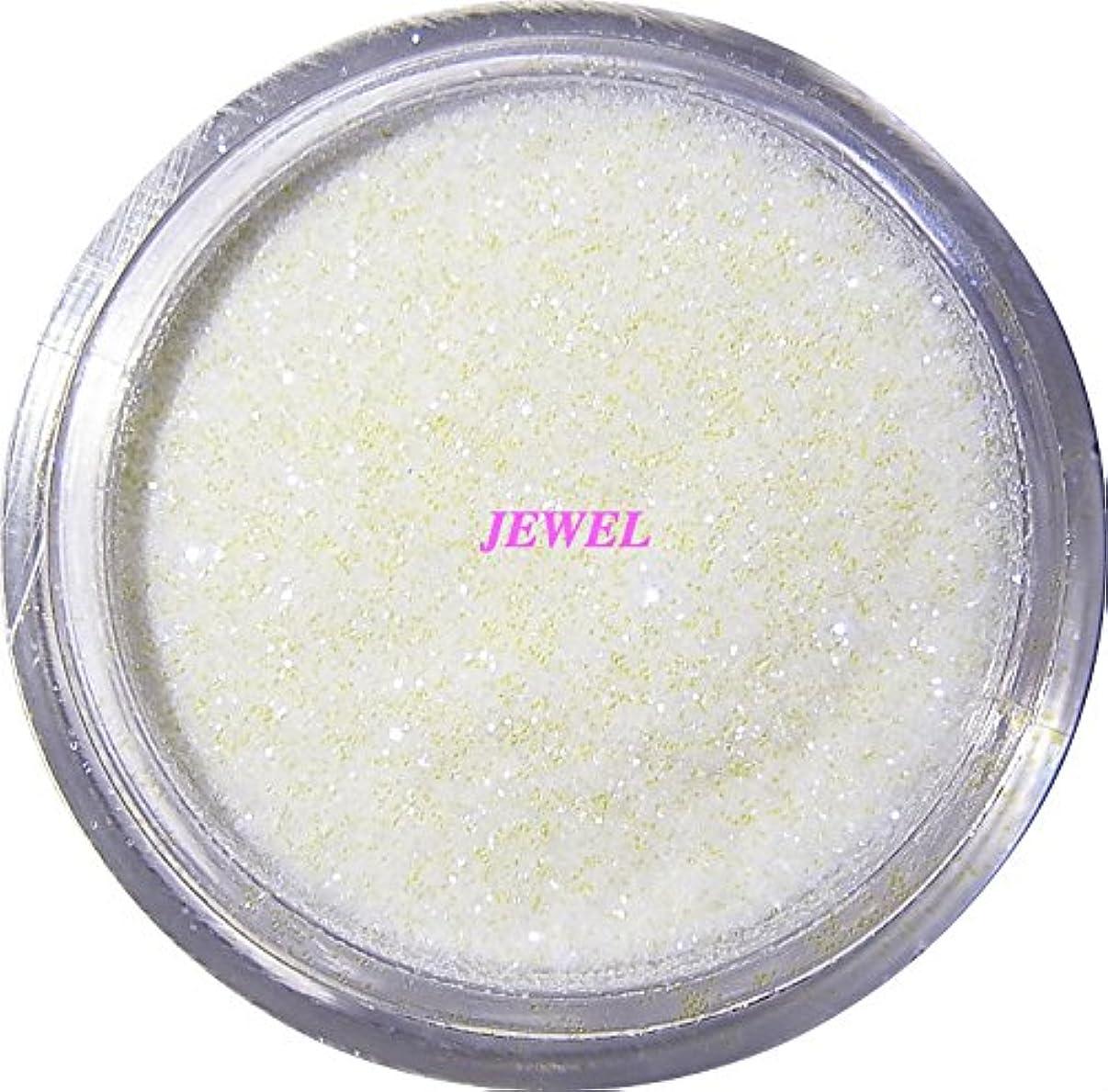 シニス戦術複製する【jewel】 超微粒子ラメパウダーたっぷり2g入り 12色から選択可能 レジン&ネイル用 (パールホワイト)