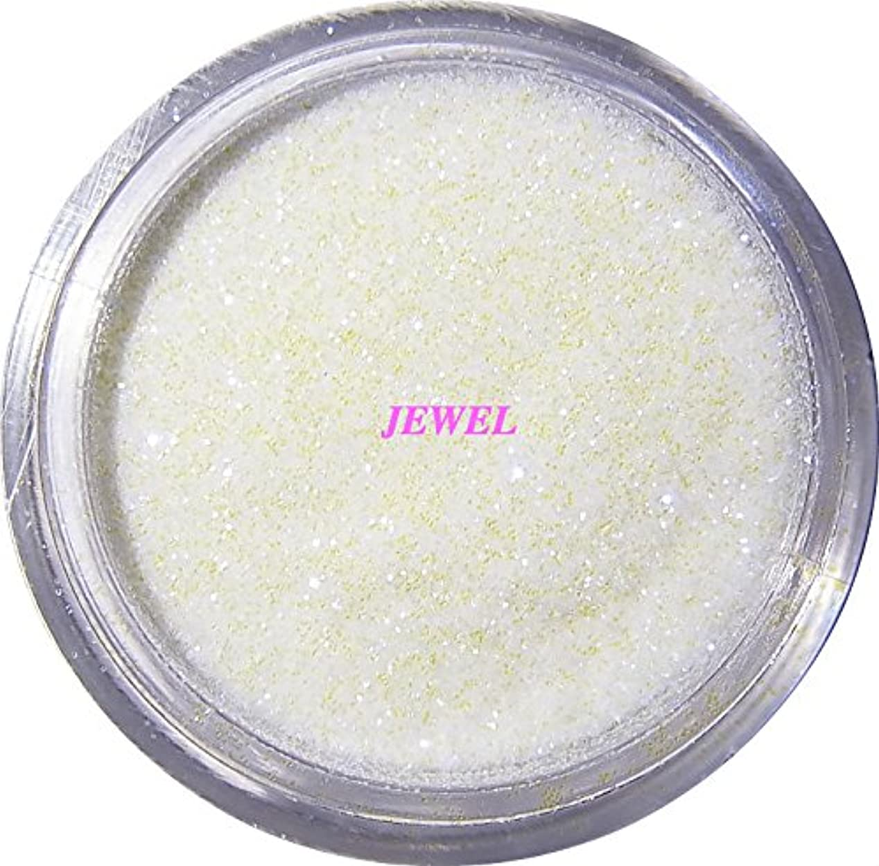 大胆不敵王女重要な【jewel】 超微粒子ラメパウダーたっぷり2g入り 12色から選択可能 レジン&ネイル用 (パールホワイト)