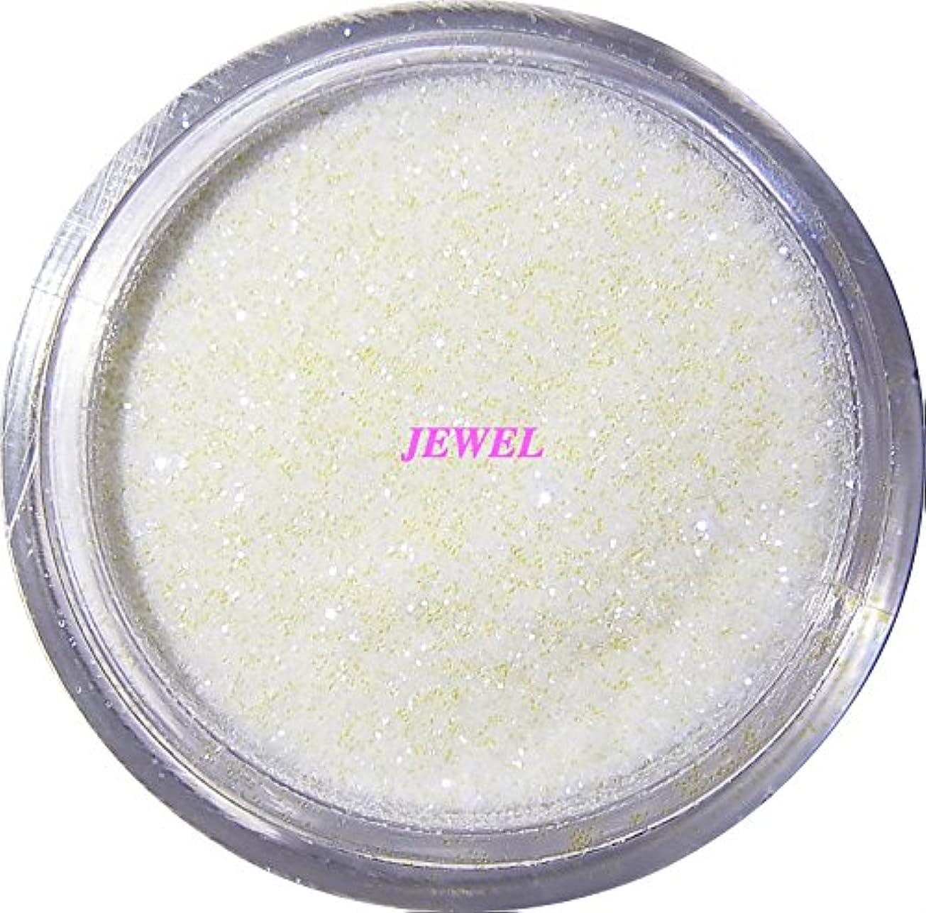 【jewel】 超微粒子ラメパウダーたっぷり2g入り 12色から選択可能 レジン&ネイル用 (パールホワイト)
