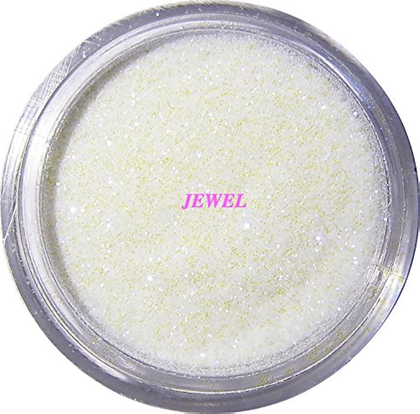 破壊的クリスチャンと組む【jewel】 超微粒子ラメパウダー(白/パールホワイト) 256/1サイズ 2g入り グリッター レジン&ネイル用