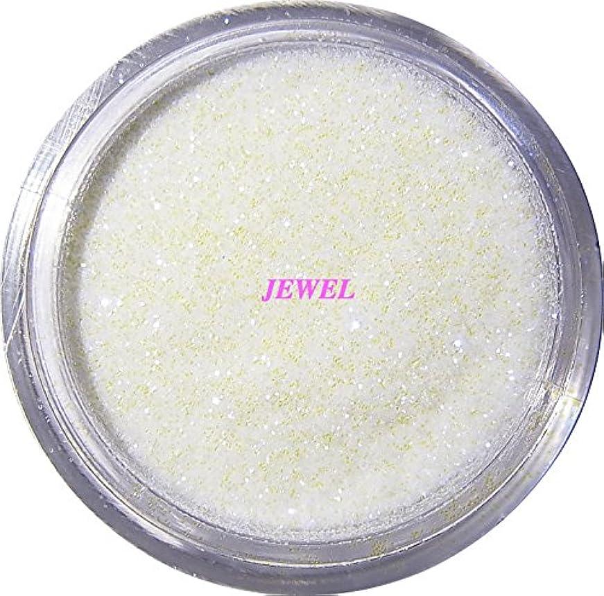一貫した枯渇する郵便屋さん【jewel】 超微粒子ラメパウダー(白/パールホワイト) 256/1サイズ 2g入り グリッター レジン&ネイル用