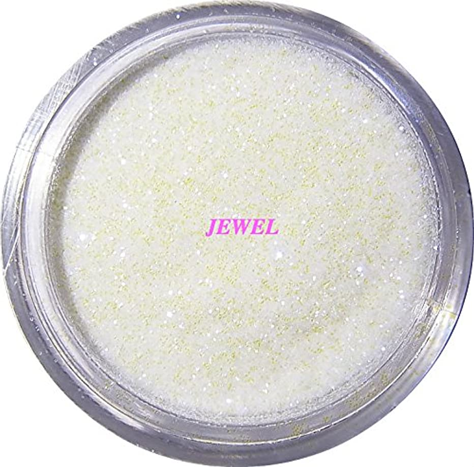 アルカイック勃起閃光【jewel】 超微粒子ラメパウダー(白/パールホワイト) 256/1サイズ 2g入り グリッター レジン&ネイル用