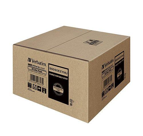 『三菱ケミカルメディア Verbatim 1回録画用 DVD-R DL VHR21HP50V1FFP(片面2層/8倍速/50枚) [フラストレーションフリーパッケージ(FFP)]』の2枚目の画像
