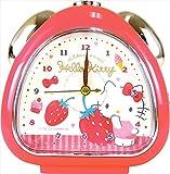ティーズファクトリー 目覚まし時計 おむすびクロック サンリオ ハピネスガール ハローキティ 6×13.7×13.5cm SR-5520284KT