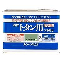 カンペハピオ 油性トタン用 ミストグリーン 7L