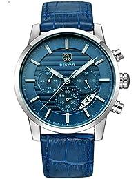 ファッションクロノグラフスポーツメンズ腕時計トップブランド高級ミリタリークォーツ時計時計