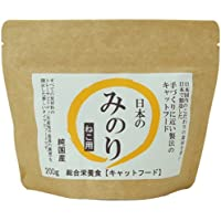 日本のみのり  純国産プレミアムキャットフード 200g 【3個セット】 + サン・クロレラ サンプル付き