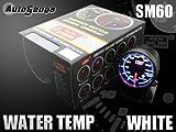 オートゲージ 水温計 SM 60Φ ホワイトLED ワーニング付