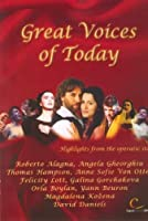 Great Voices of Today [DVD]