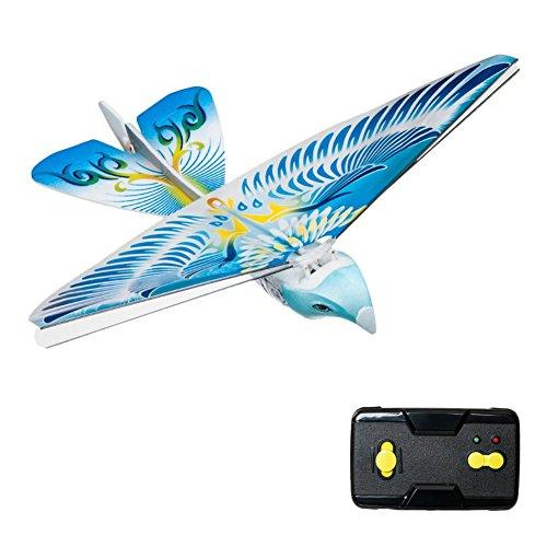 大空へ羽ばたけ ラジコン 鳥型 2.4GHZフライング 空飛ぶ 鳥型ラジコン パタパタバード 子供 お誕生日 プレゼント 飛行/簡単操作で本物の鳥のように(カラーはランダムです)