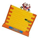 Lovoski プラスチック製 壁で落ちる 対戦ゲーム 勝つ パーティー 面白いおもちゃ プレゼント イエロー オレンジ