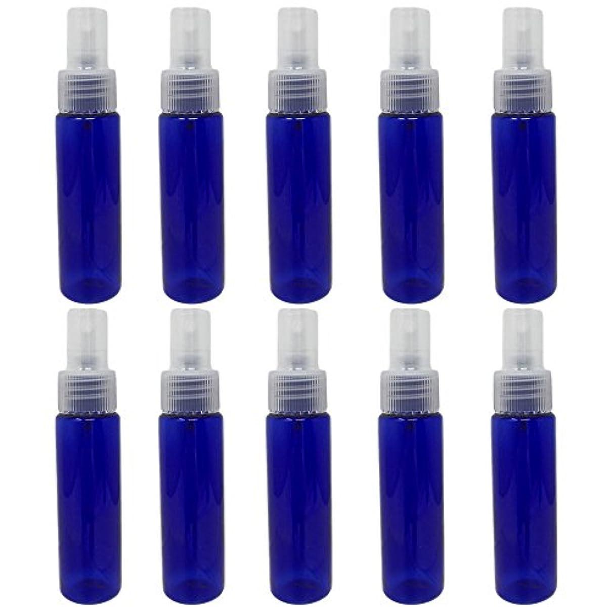 活性化動的分[pkpohs] スプレーボトル 霧吹き スプレー 小分け ボトル 保存容器 化粧水 コスメ 携帯用 (30ml/10本)
