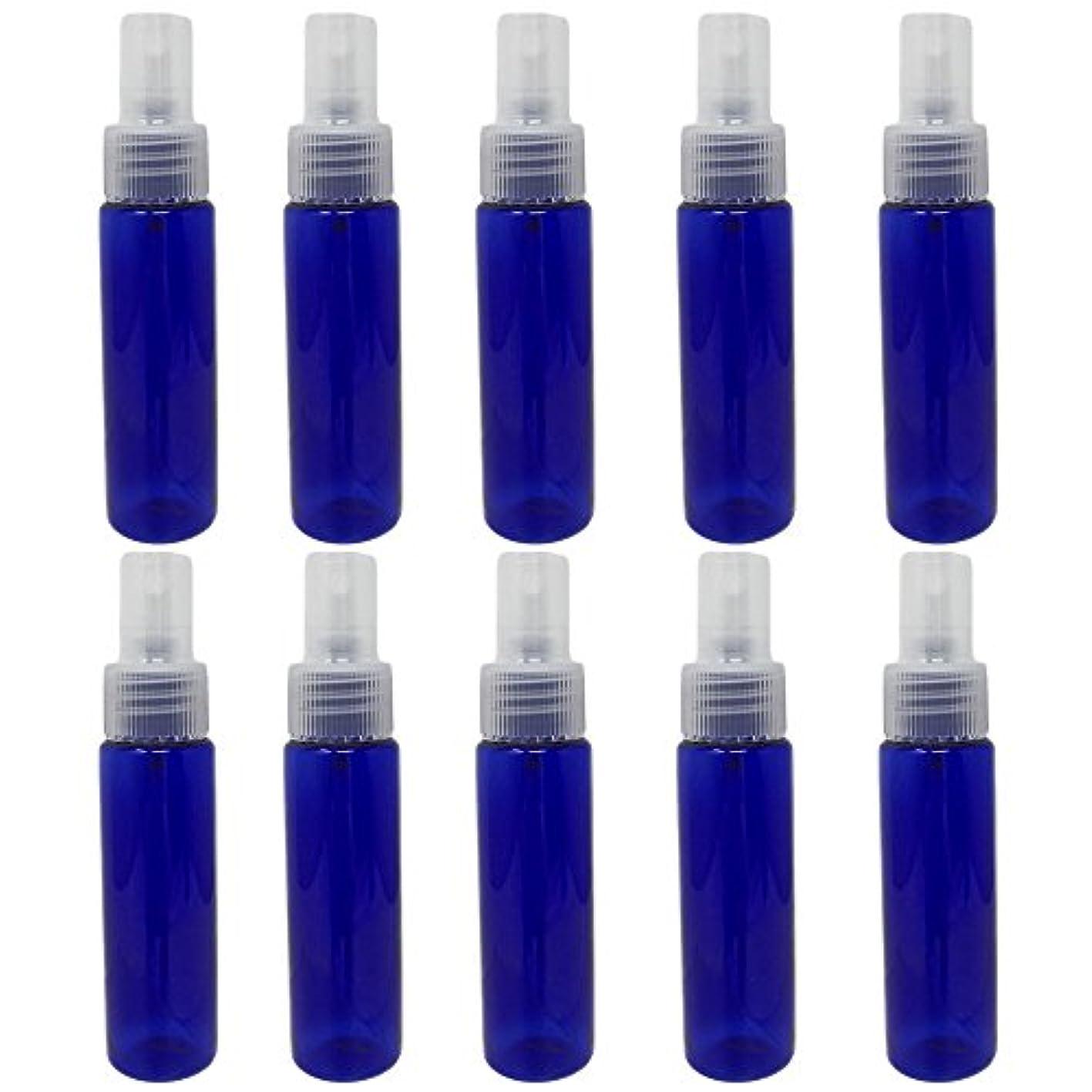 推進力すずめ混合[pkpohs] スプレーボトル 霧吹き スプレー 小分け ボトル 保存容器 化粧水 コスメ 携帯用 (30ml/10本)