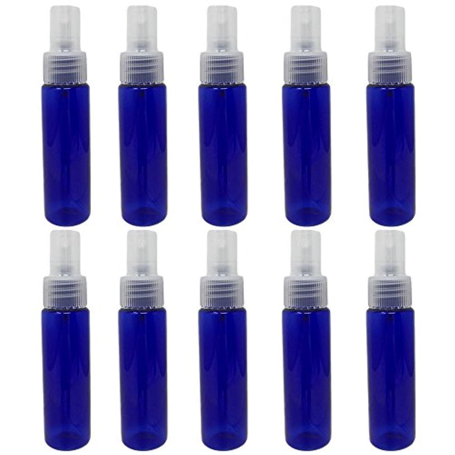 永続追放するシャックル[pkpohs] スプレーボトル 霧吹き スプレー 小分け ボトル 保存容器 化粧水 コスメ 携帯用 (30ml/10本)
