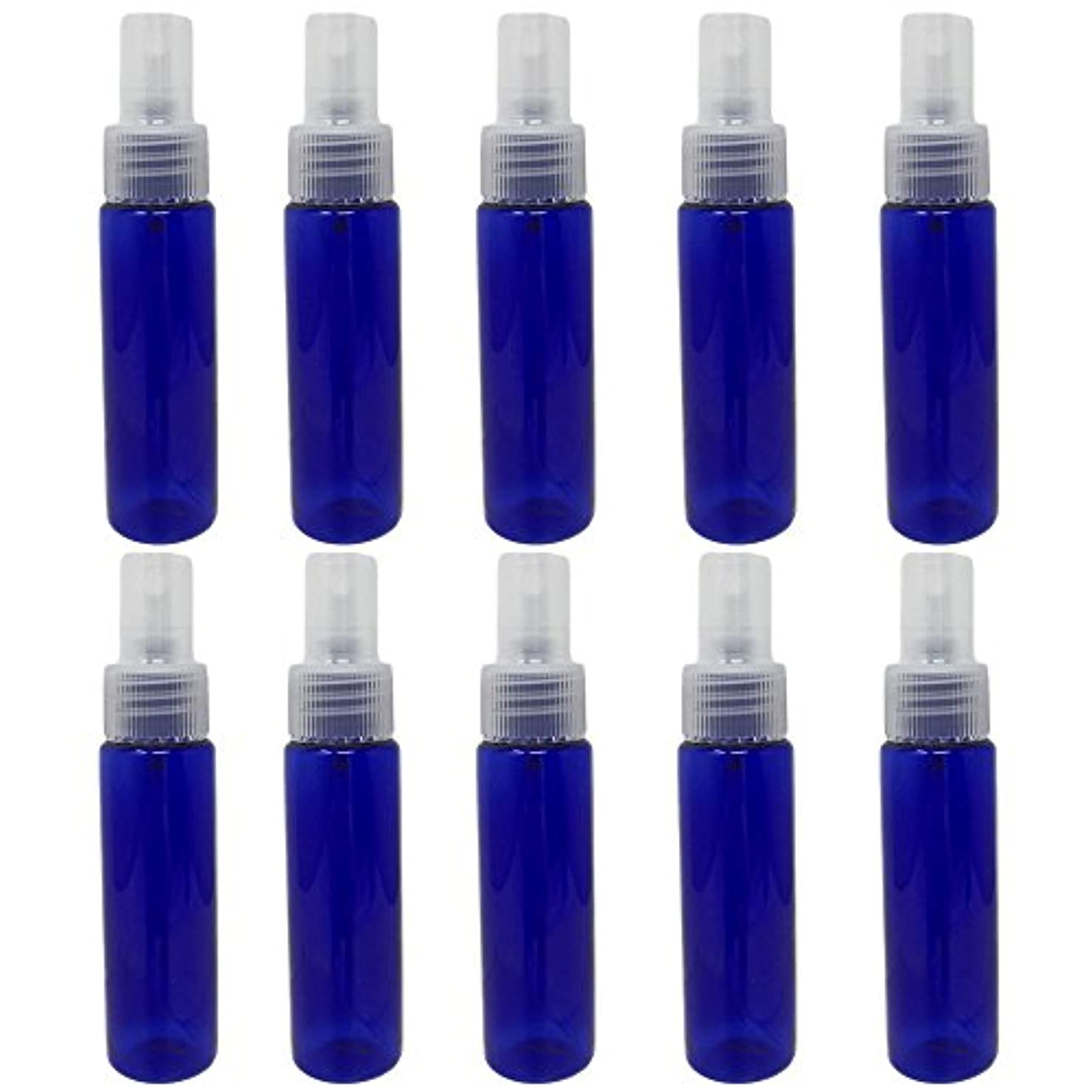 蜂雇用者失敗[pkpohs] スプレーボトル 霧吹き スプレー 小分け ボトル 保存容器 化粧水 コスメ 携帯用 (30ml/10本)