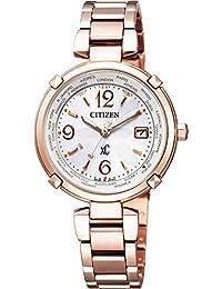 [シチズン]腕時計 xC クロスシー エコ・ドライブ電波時計 ティタニアライン ハッピーフライト 日中米欧電波受信 EC1047-57A レディース