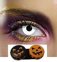 ColourVUE 1 Day White Coloured Contact Lenses With Beautifeye™ Halloween Soaking Case