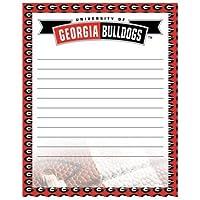 """Georgia Bulldogs 8"""" x 10""""乾燥消去メッセージボード"""