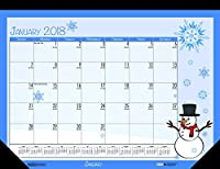 House of Doolittle 2018 Monthly Desk Pad Calendar Seasonal 22 x 17 inches January - December (HOD139-18) [並行輸入品]