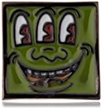 [キース・ヘリング] Keith Haring スクエアーピンバッチ HRMV0001  M0