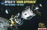 ドラゴン 1/72 NASA アポロ11号 月面着陸 (司令船コロンビア&月着陸船イーグル) プラモデル DR11001