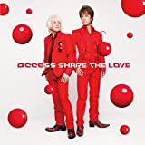 Share The Love♪accessのCDジャケット