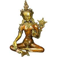 ガンジスインディアSaviour Goddess Tara真鍮Statue