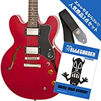 【人気商品3点セット】Epiphone Dot CH + ELLEGARDEN/BRING YOUR BOARD!!(バンド・スコア) + ERNIE BALL Polypro Strap ギターストラップ 4037 ブラック