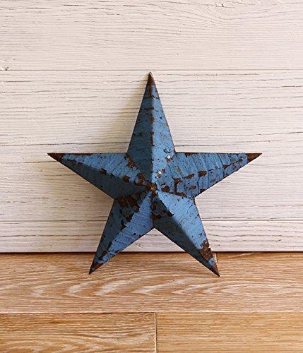 RoomClip商品情報 - Tin Barn Star [ティンバーンスター] Handmade Tin stars 12inch(インテリア 星 スター オブジェ) 12インチ ライトブルー